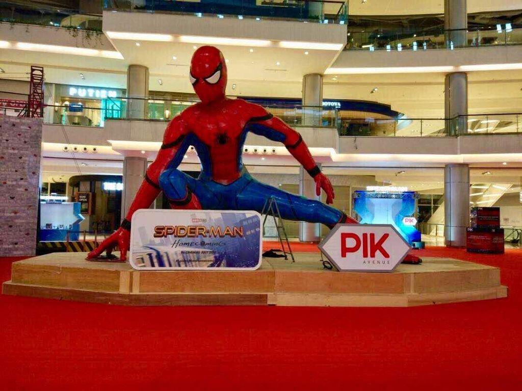 PIK Avenue Gelar Pameran untuk Pecinta Film Spider-Man