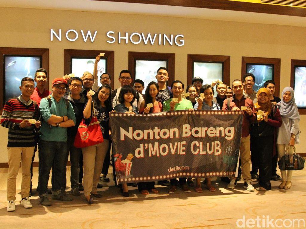 Keseruan Nonton Jailangkung Bareng Komunitas dHOT Movie Club