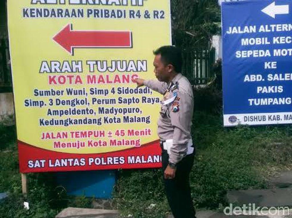 H-3, 16.704 Kendaraan Mulai Masuk Kabupaten Malang