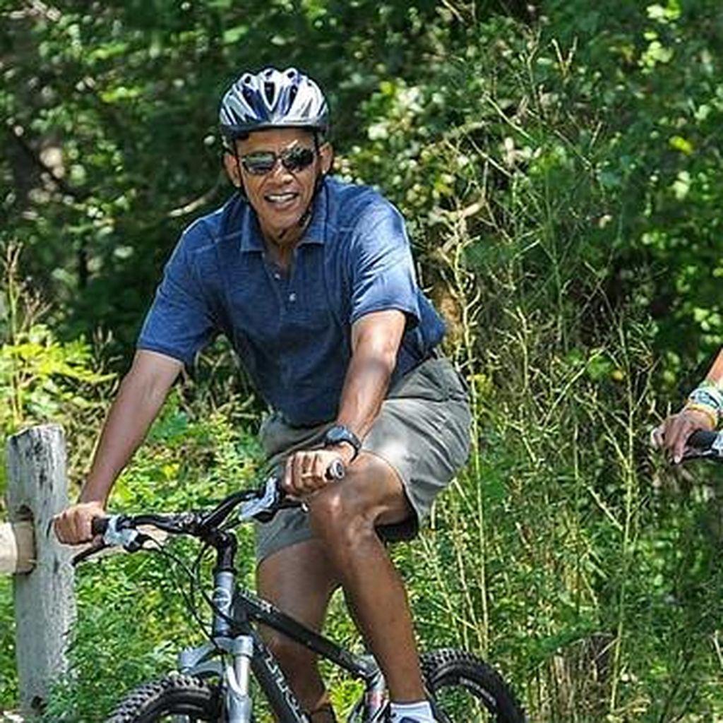 Pagi-pagi Sudah Nge-gym, Gaya Hidup Obama Layak Jadi Fitness Goal