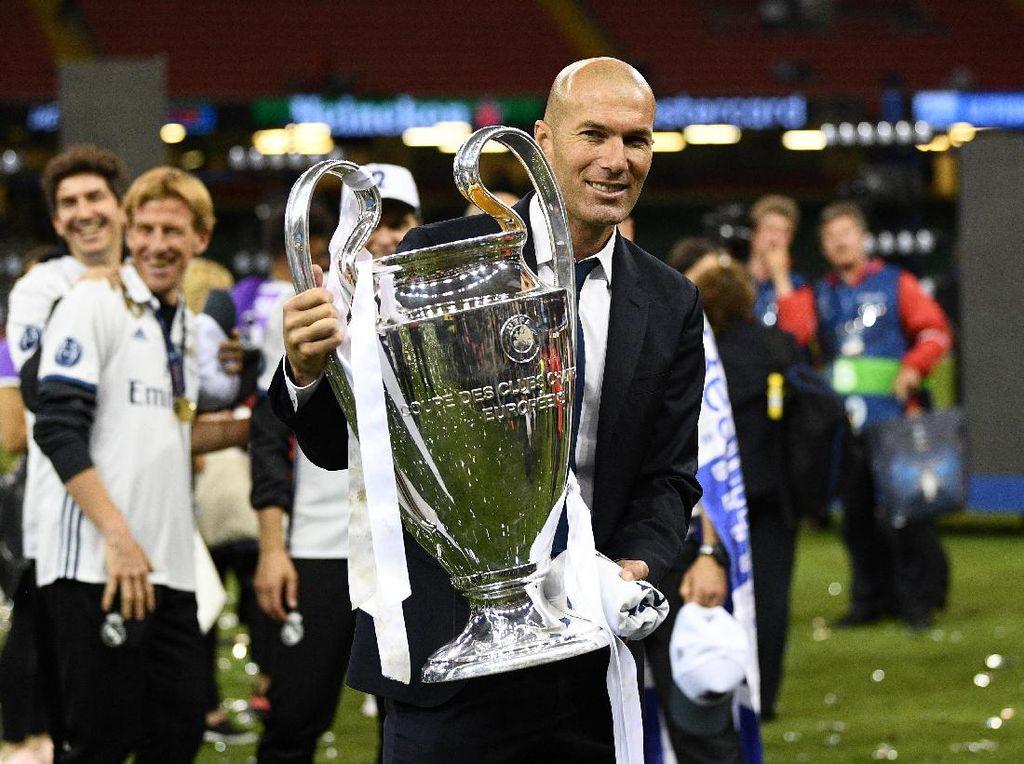 Zidane di Madrid: 7 Trofi, 7 Kekalahan