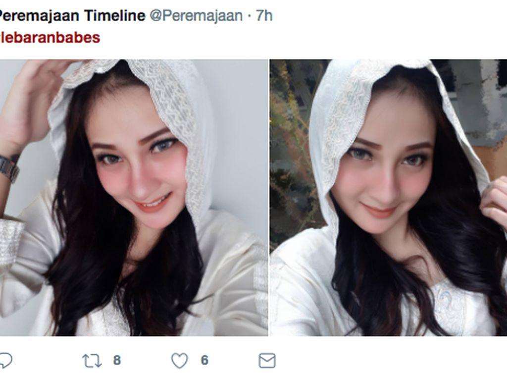 Ramai-ramai Pamer Selfie Cantik #LebaranBabes