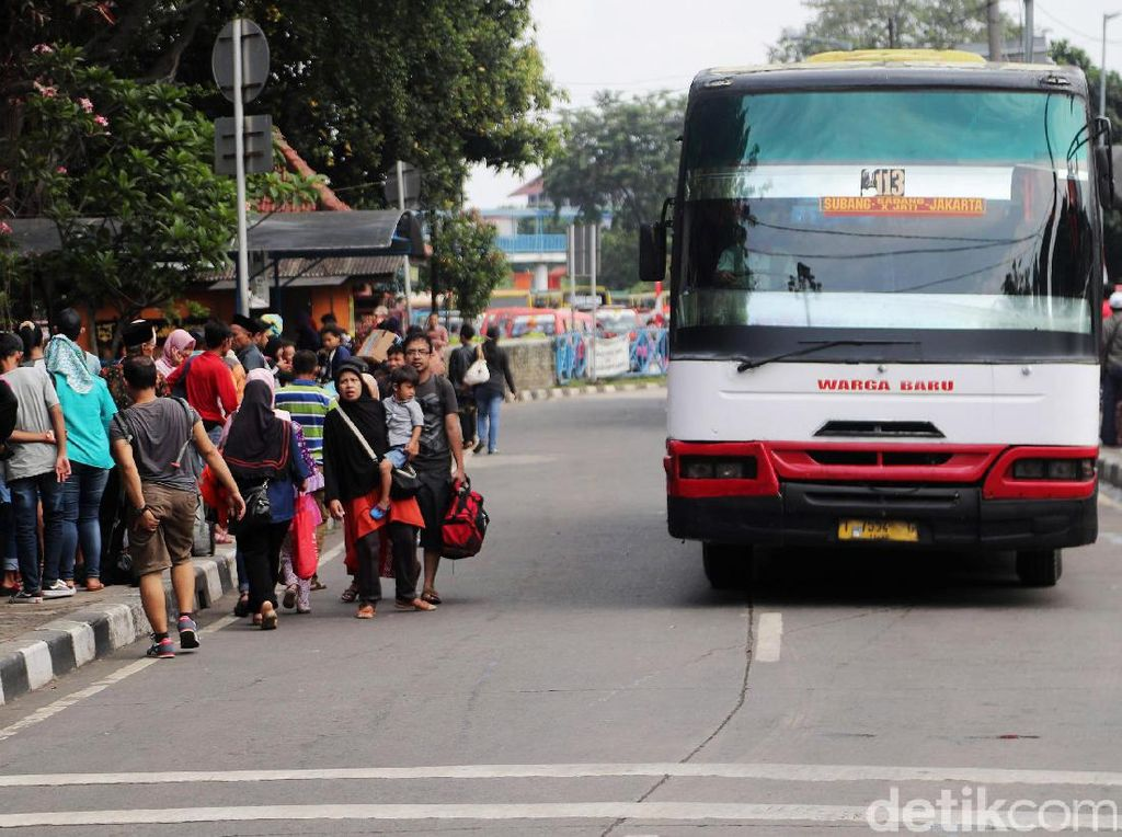 H+4, Arus Balik Terminal Kampung Rambutan Meningkat