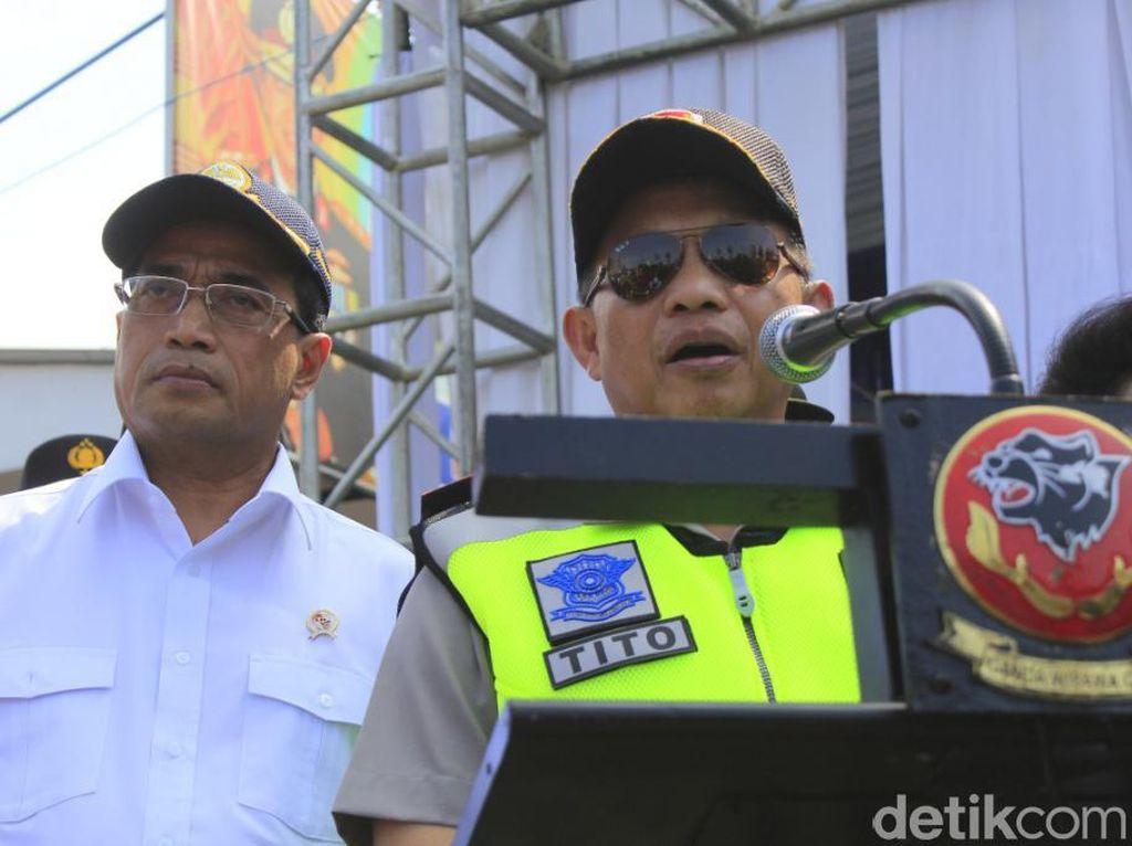 Kapolri Klaim Angka Kecelakaan di Jalur Mudik Jawa Barat Menurun