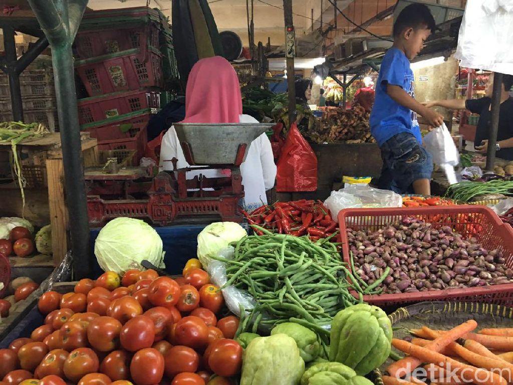Bagaimana Harga Sayuran di Jakarta Seminggu Usai Lebaran?