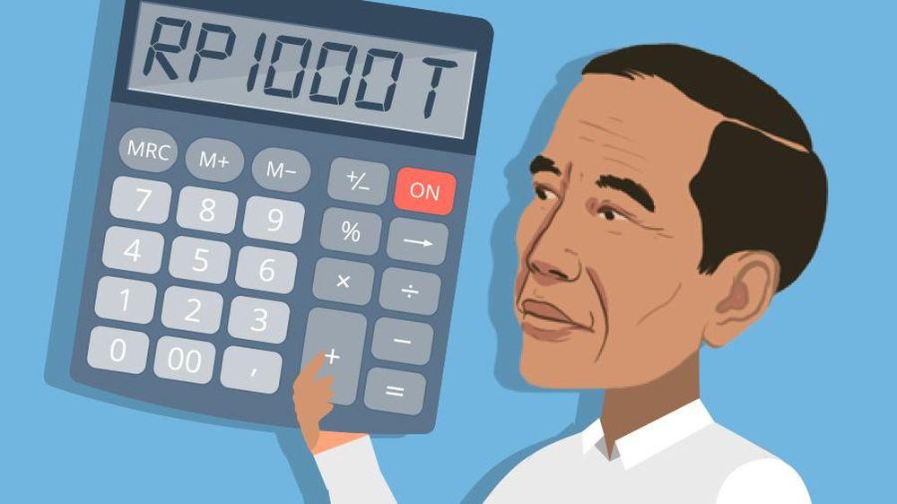 Jokowi Tambah Utang Rp 1.000 T