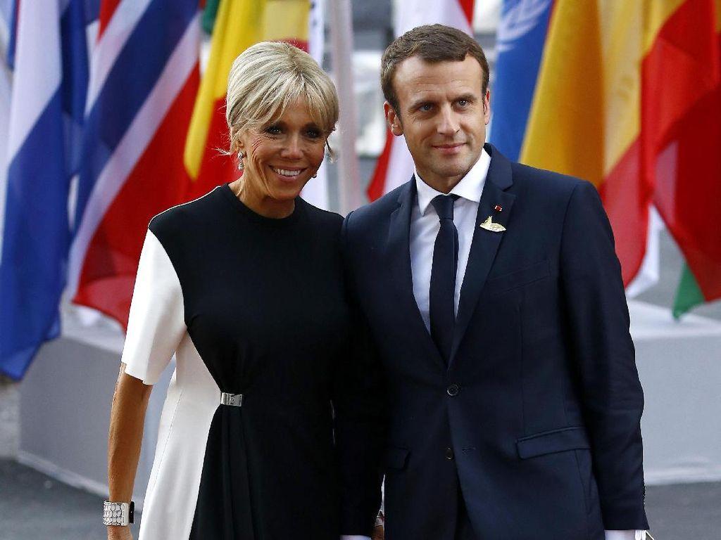 Ungkapan Cinta Brigitte untuk Presiden Prancis yang 24 Tahun Lebih Muda