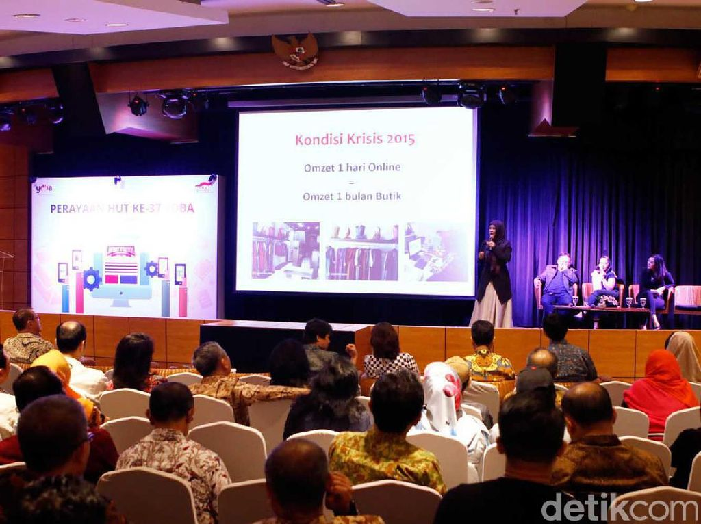 Suasana diskusi bertema Digital Ecosytem : Unboxing Future dalam rangka perayaan HUT ke-37 YDBA. Pool/YDBA.