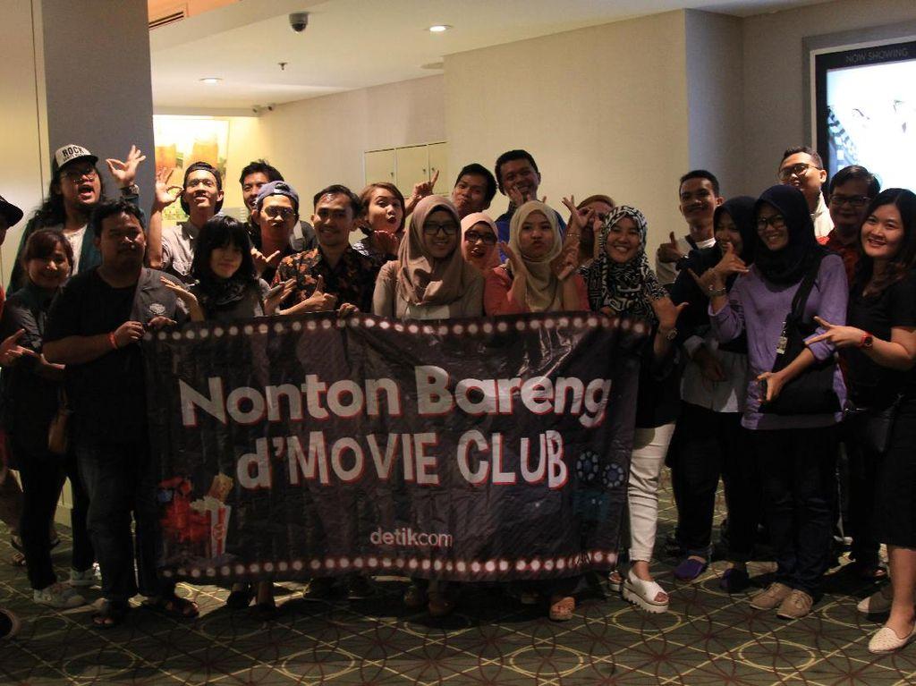 Serunya Nobar Filosofi Kopi 2 Bareng DMovie Club