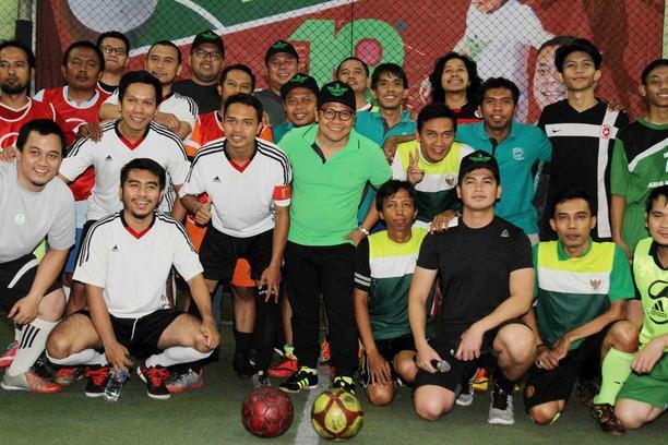 PKB Gelar Turnamen Futsal Wartawan