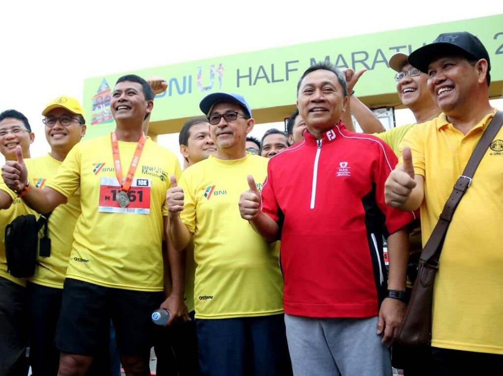 Melihat Keseruan BNI UI Half Marathon 2017