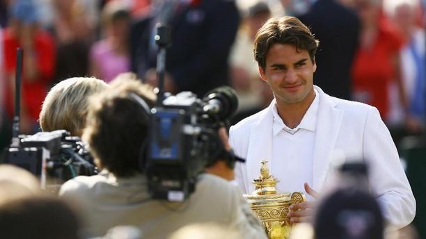 8 Trofi Federer dari Wimbledon