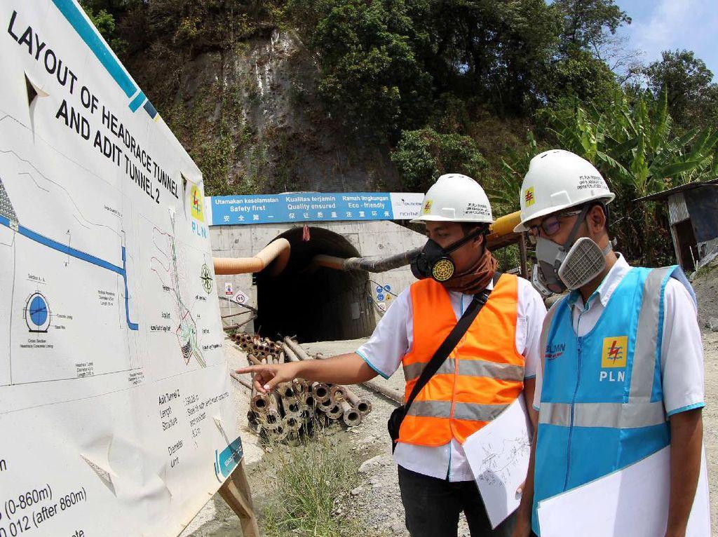 PLTA ini nantinya dimanfaatkan untuk meningkatkan keandalan sistem listrik di sub-sistem Bandung Selatan dan sub-sistem Mandirancan. Agus Trimukti/Humas PLN.