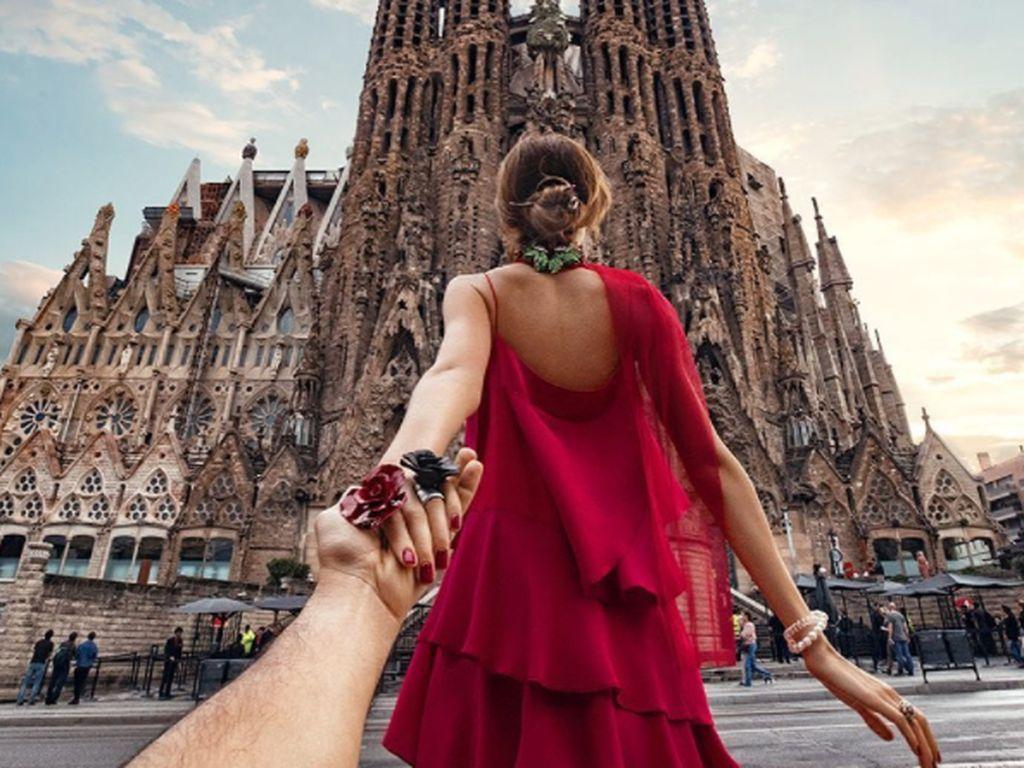 Petualangan bersama Nataly dalam proyek bertajuk follow me dimulai pada tahun 2011 di kota Barcelona, Spanyol. Foto: Instagram