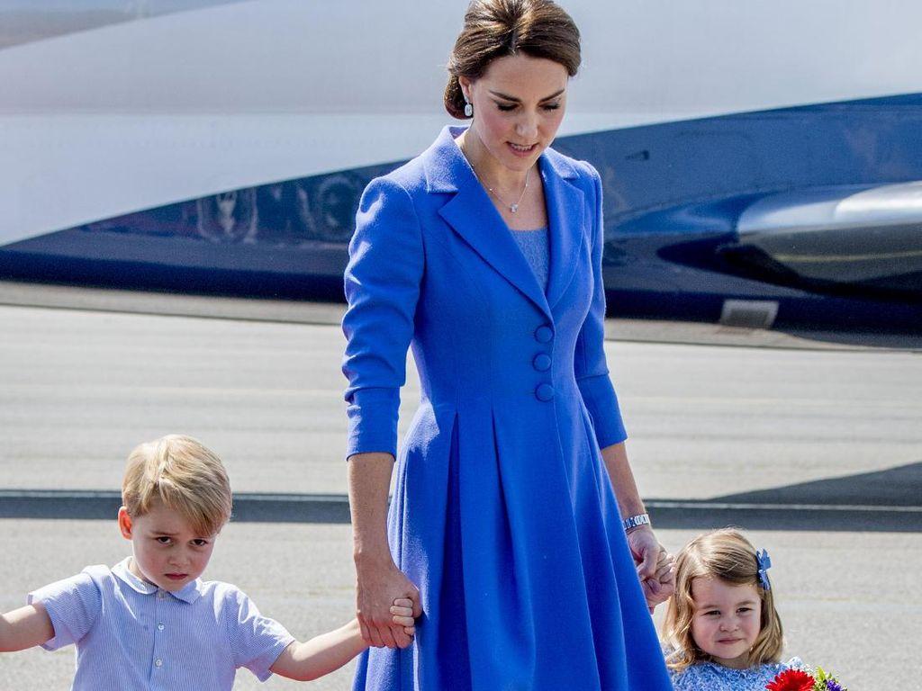 Terungkap Alasan Pangeran George Selalu Pakai Celana Pendek