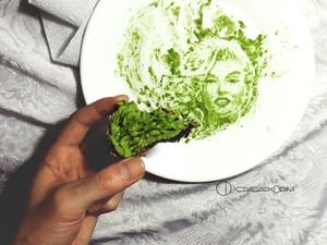 Cantiknya Lorde Hingga Marilyn Monroe yang Dilukis dari Buah Alpukat
