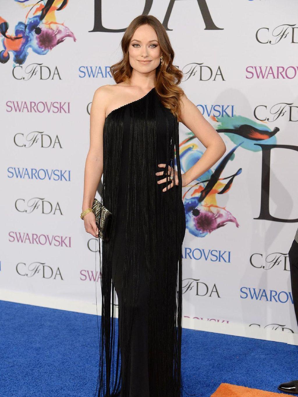 Foto: Cantiknya Olivia Wilde Tampil Mempesona Dibalut Gaun Malam