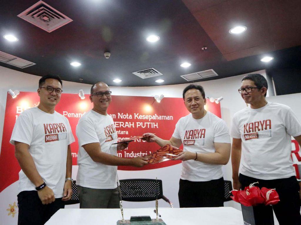 Badan Ekonomi Kreatif dan Kadin Indonesia Jalin Kerja Sama