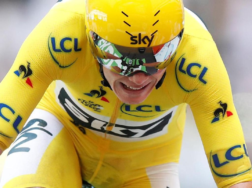 Gelar Keempat Chris Froome di Tour de France