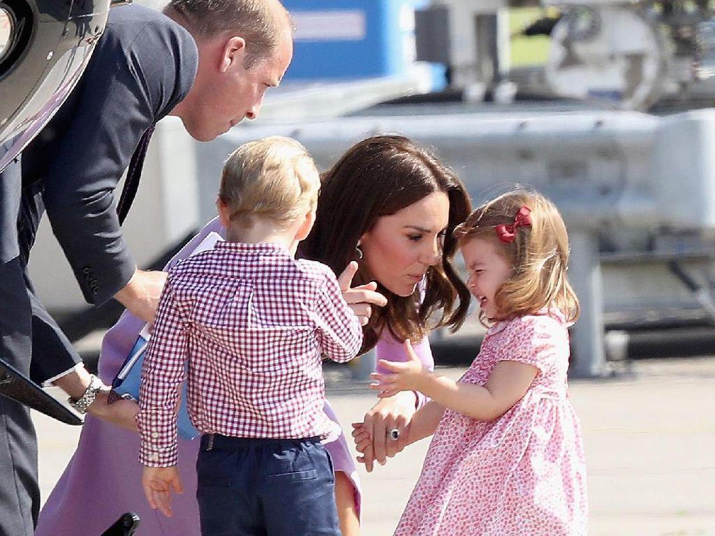 Foto: 13 Bukti Kate Middleton Seperti Ibu Lainnya yang Pernah Ngomel ke Anak