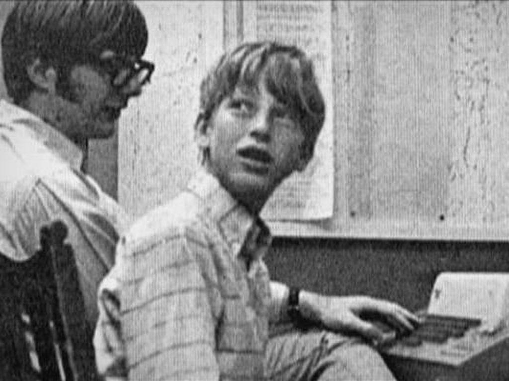 Pantas Saja Bill Gates Orang Terkaya, Begini Masa Kecilnya