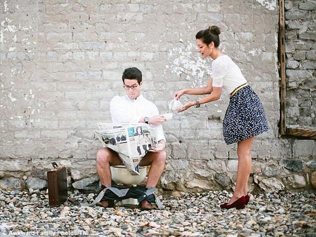 Tak Terpikirkan, 7 Foto Pre-Wedding Paling Aneh