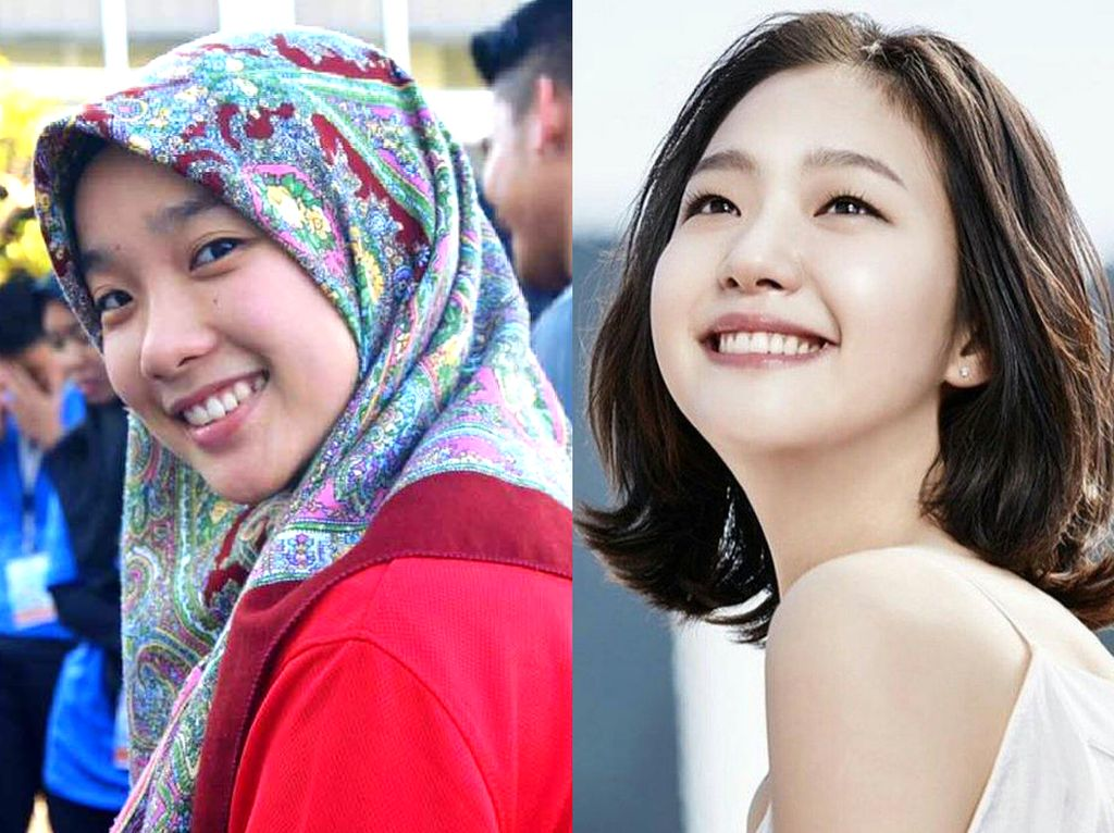 Viral, Foto Hijabers Malaysia yang Mirip dengan Seleb Korea di Drama Goblin
