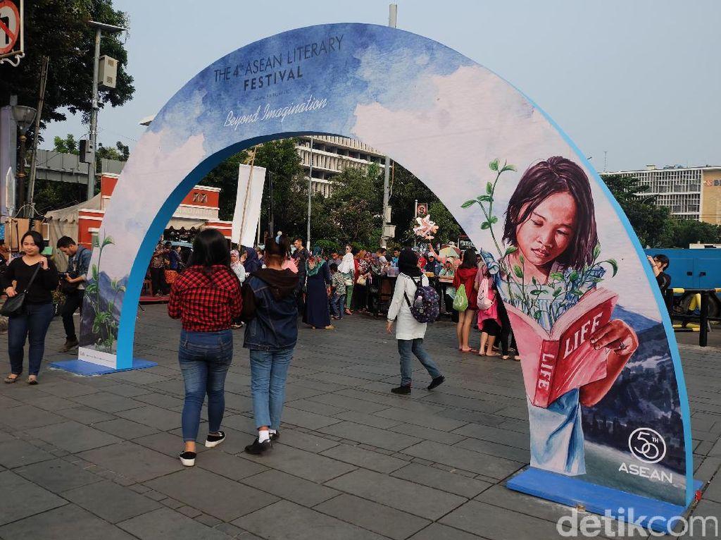 Ramai, Tahun Ini ASEAN Literary Festival Digelar di Kota Tua
