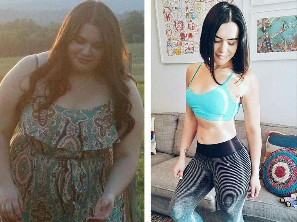 Foto: Transformasi Menakjubkan 15 Wanita dari Super Gemuk Jadi Langsing