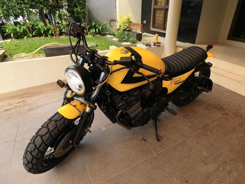 Suzuki GSX1100G ala Scrambler Bumblebee
