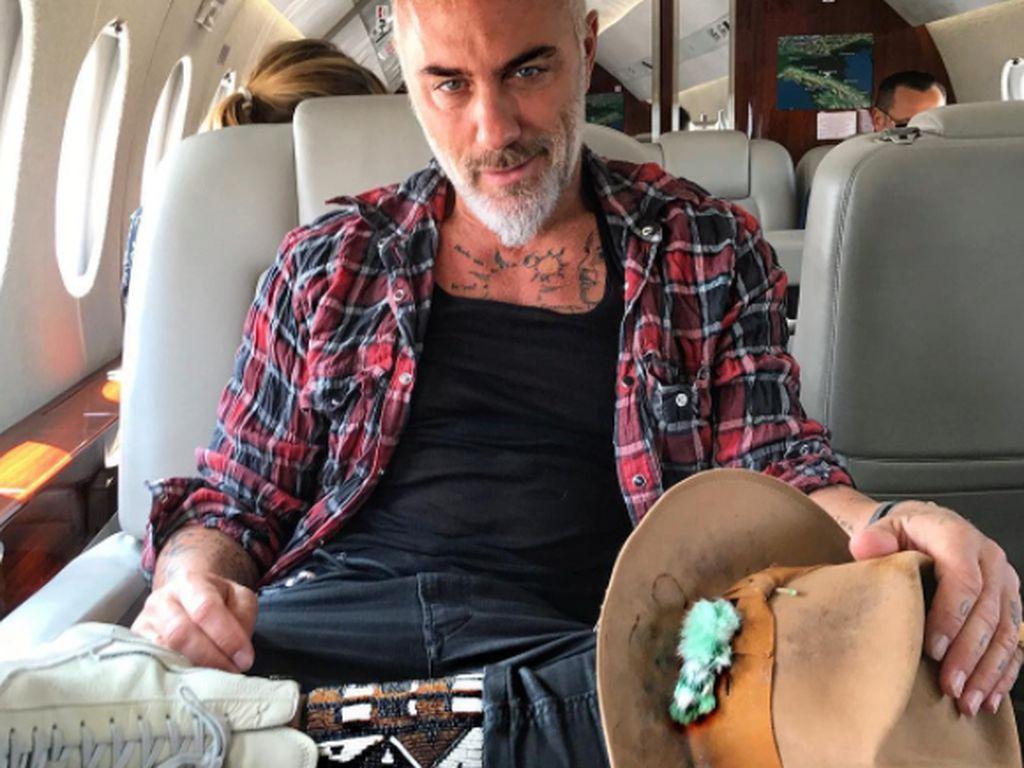 Namanya Gianluca Vacchi, kakek usia 50 tahun asal Italia yang menghebohkan Instagram.Foto: Instagram