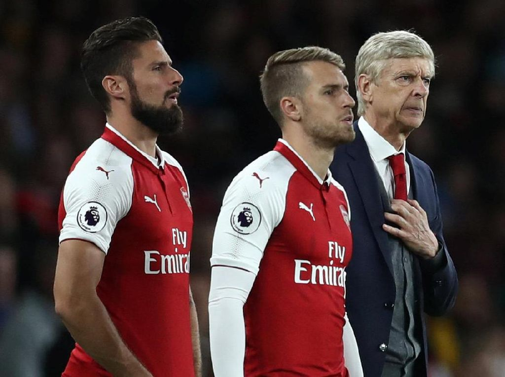 Upaya demi upaya dilakukan Arsenal, tapi tak membuahkan hasil. Perubahan pun dilakukan. Masuknya Aaron Ramsey dan Olivier Giroud jadi penentu. (Foto: REUTERS/Eddie Keogh)