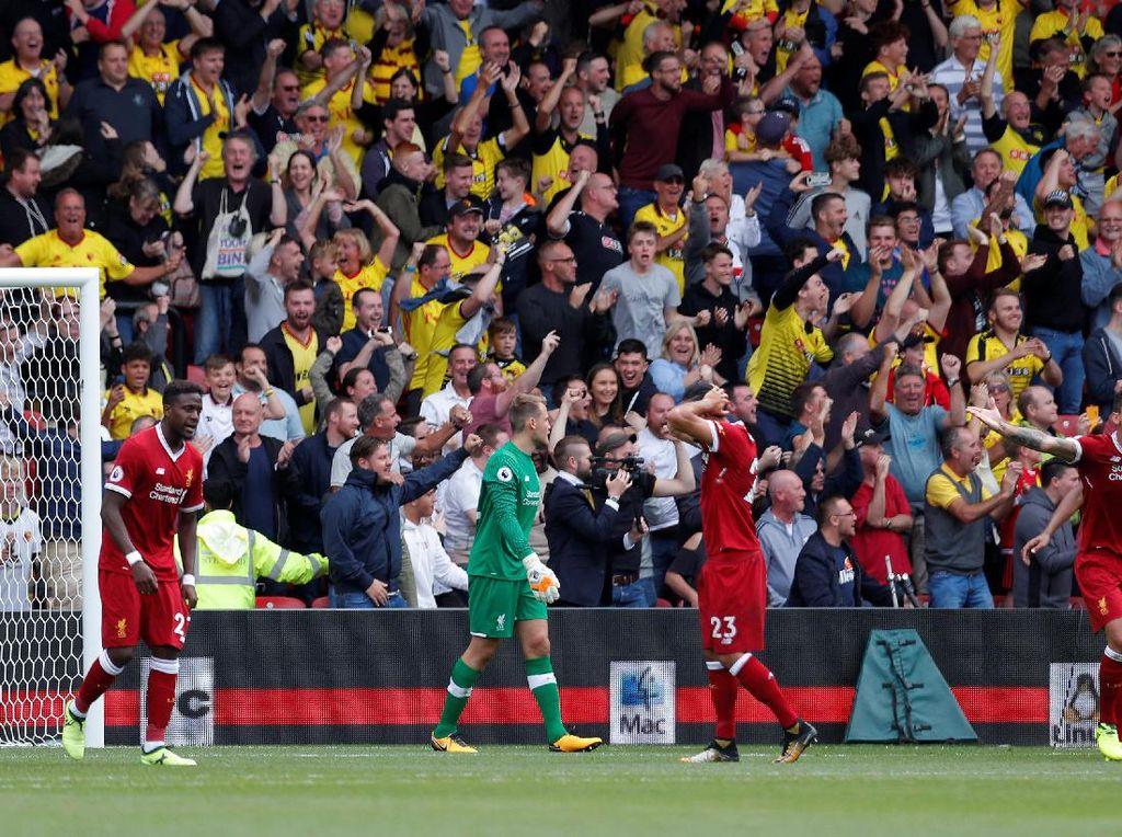 Kekecewaan jelas melanda Liverpool mengingat mereka harusnya bisa menang. Masalah di lini belakang pun harus segera diperbaiki (Foto: Action Images via Reuters / Andrew Couldridge)