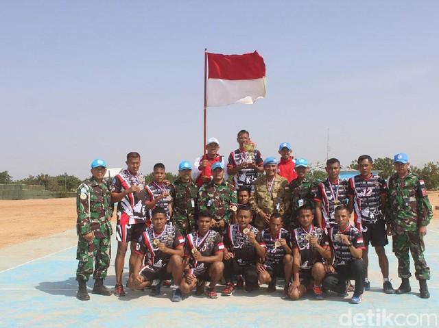 Satgas Indobatt-03 Juara UmumUnamid SWC 2017 di Sudan