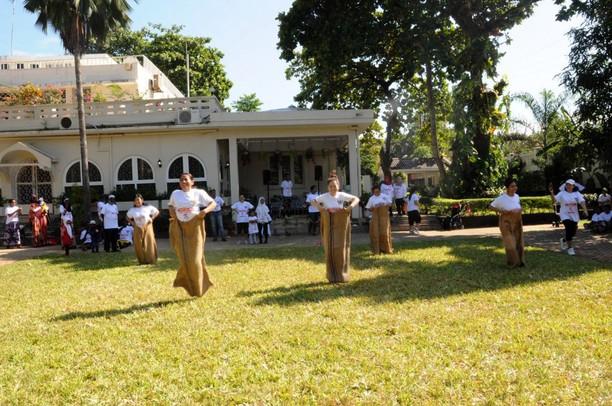 Lomba Peringatan HUT RI di Tanzania