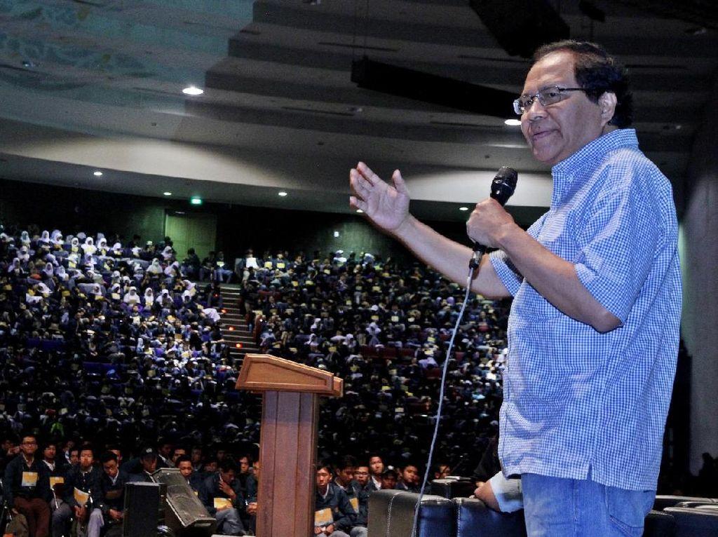 Rizal Ramli Dorong ITB Kembali Jadi Kampus Terbaik Dunia