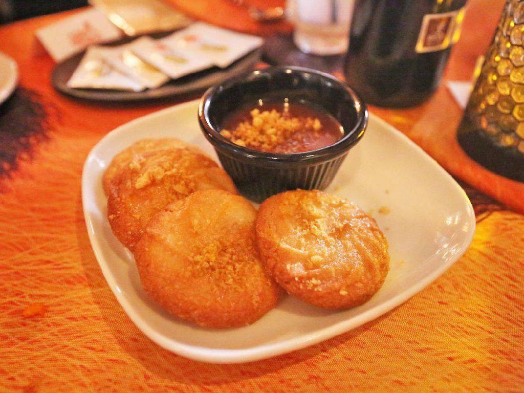 Cheetos Sweetos, cookies manis gurih yang dibuat dengan cheetos rasa caramel. Foto: Istimewa