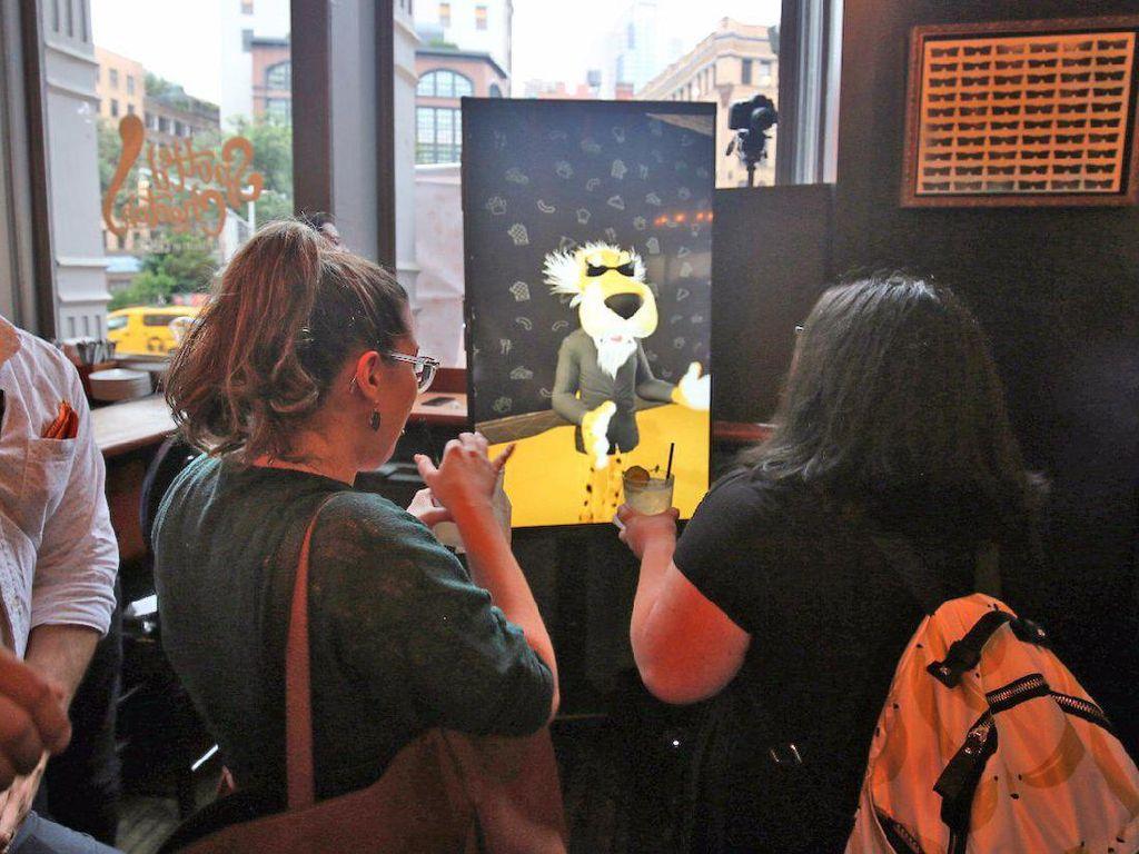 Interior serba Cheetos begitu terasa di sini. Pengunjung juga bisa bertemu Chester, maskot Cheetos yang interaktif di The Spotted Restaurant.Foto: Istimewa