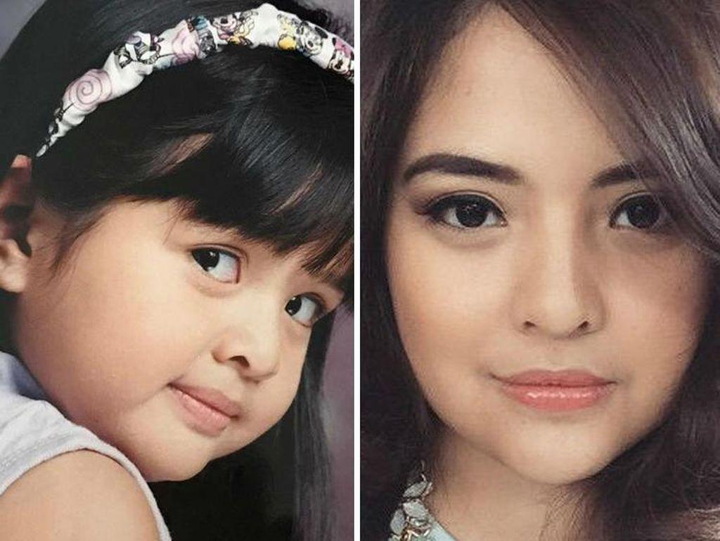 Foto: Transformasi 10 Penyanyi Cilik Indonesia, Dulu Imut Sekarang Cantik