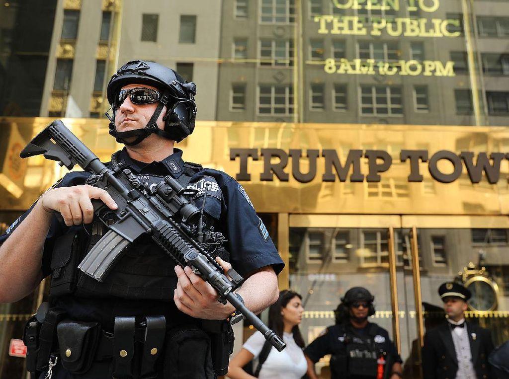 Foto: Melihat Aksi Agen Secret Service yang Terancam Tak Digaji