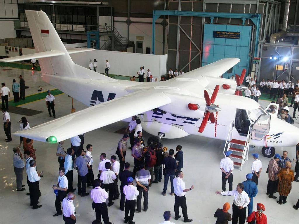 Foto: Perjalanan Panjang Pesawat N219 yang Akan Diproduksi Masal