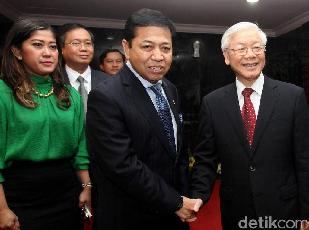 Sekjen Partai Komunis Vietnam Temui Pimpinan MPR, DPR dan DPD