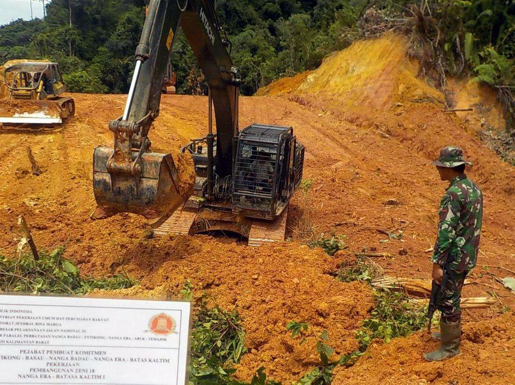 Kerja Keras, Akhirnya Jalan Perbatasan di Kalbar Terbuka