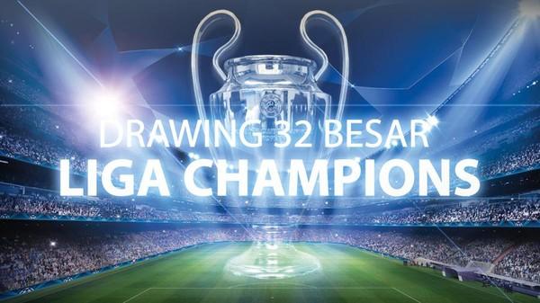 Drawing Fase Grup Liga Champions