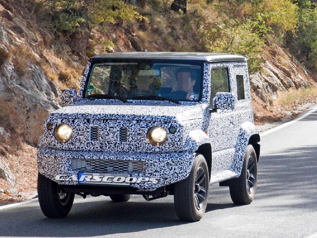Setelah lebih dari dua dekade dijual di pasaran, Suzuki bakalan melakukan permak pada model Jip mininya,Jimny.Foto: Carscoops