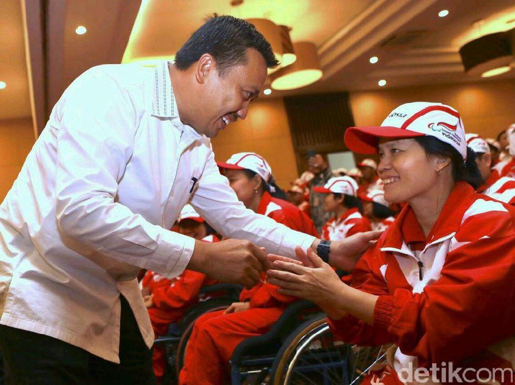 Kontingen Indonesia sendiri terdiri dari 196 atlet, 53 pelatih dan 19 pendamping. (dok. Kemenpora)