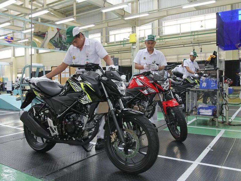 Motor paling laris keenamHonda CB150 Streetfire: 13.673 unitFoto: dok. Astra Honda Motor