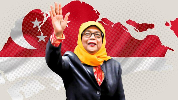 Presiden Wanita Pertama Singapura