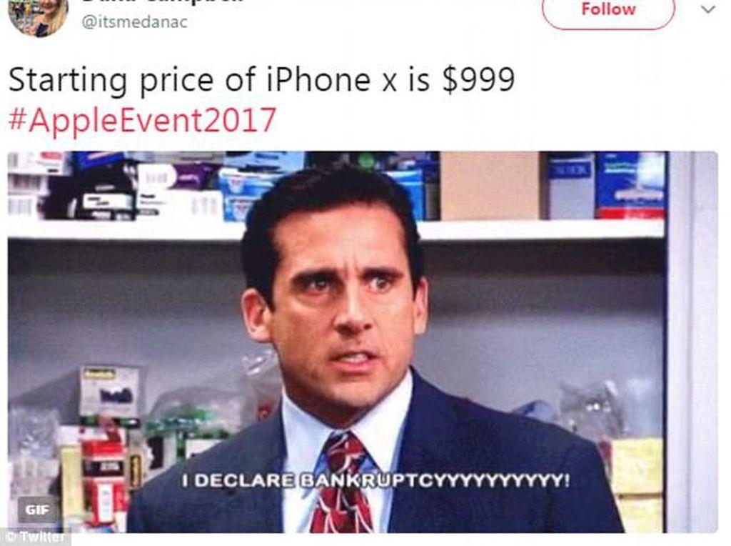 Beli iPhone X diyakini bisa bikin bangkrut. Foto: Istimewa