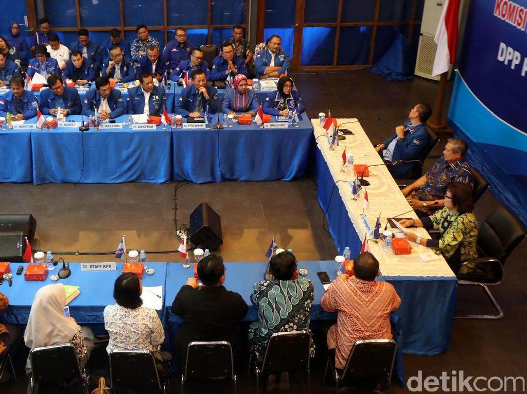 Suasana diskusi yang dihadiri Wakil Ketua KPK Basaria Pandjaitan.